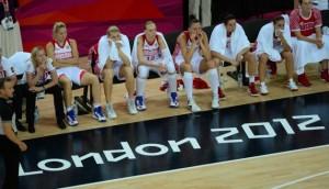 Langage corporel de l'équipe russe sport